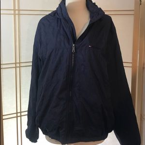 Vintage Tommy Hilfiger Hooded Lined Windbreaker